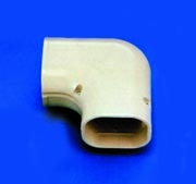 SlimDuct 90 Degree Elbow in White
