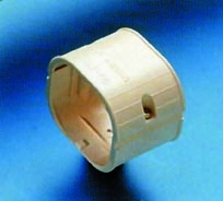 Slimduct Straight Line Set Coupler In Brown